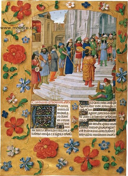 [Breviario-de-Isabel-la-Catoacutelica-f.-184v-El-rey-David-y-sus-mampuacutesicos-sobre-las-quince-gradas-del-Templo-Facsimile_book-862]
