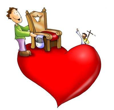 Resultado de imagen de Vuestro corazón a su centro que es Dios,