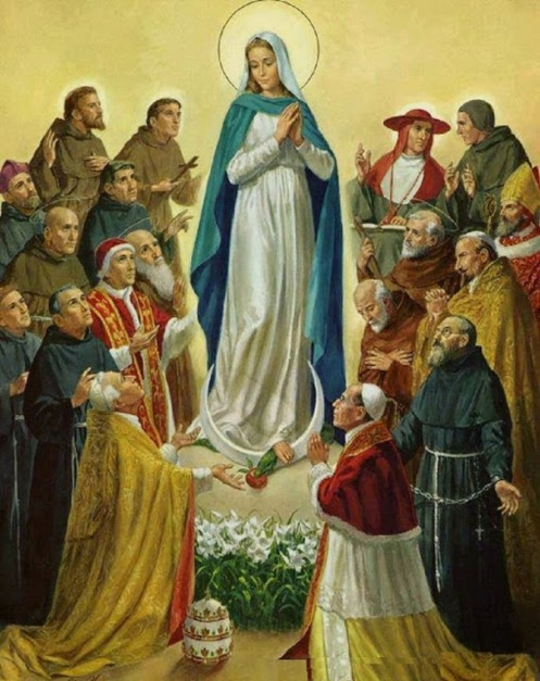 Resultado de imagen de MARIA MADRE DE LA IGLESIA
