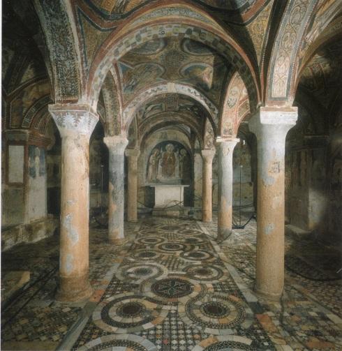 Resultado de imagen de CRIPTA DE LA CATEDRAL DE ANAGNI. ITALIA
