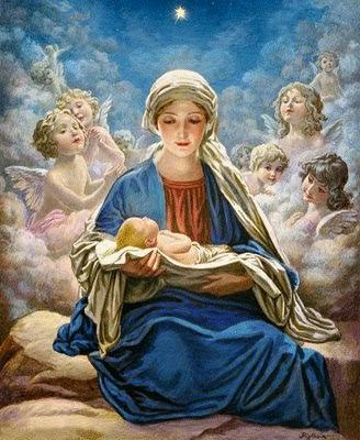 Resultado de imagen de María Virgen, madre de Dios, en cuanto a la humanidad;